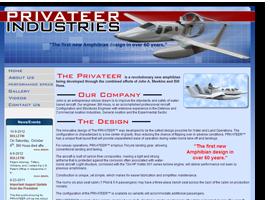 Privateer Industries Website