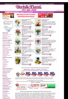 Norfolk Florist Website
