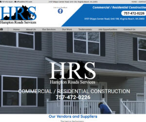 Hampton Roads Services Web Design Project