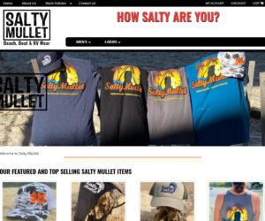 Salty Mullet Website Design Project