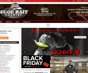 Wood Bait Country Website Design Project