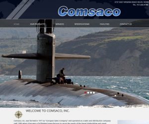 Comsaco Inc. Web Design Project