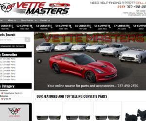 Vette Masters Website Design Project