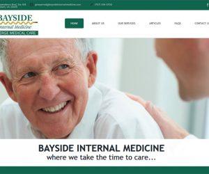 Bayside Internal Medicine Web Design Project