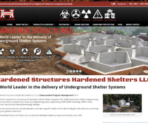 Hardened Structures Web Design Project