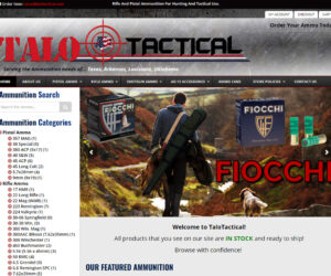 TALO Tactical Website Design Project