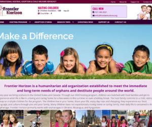 Frontier Horizon Web Design Project