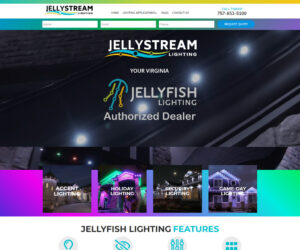 JellyStream Lighting Web Design Project