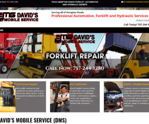 David's Mobile Service DMS Web Design Project